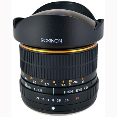 8mm f/3.5 Lens for Olympus Cameras (FE8M-O)