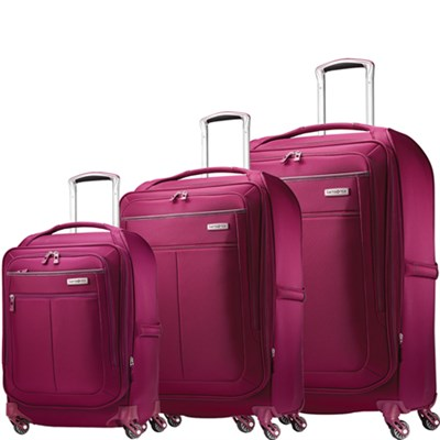 MIGHTlight Luggage Nested Spinner Set (21`/25`/30`) Berry 62650-1944