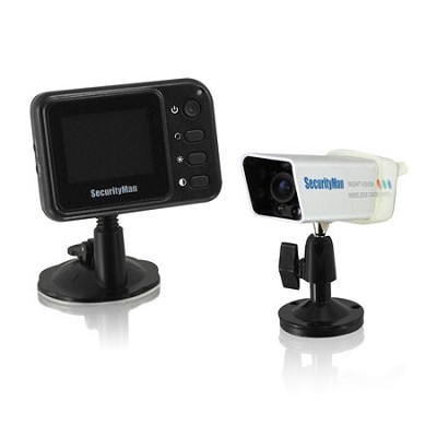Weatherproof Wireless Rearview System with Magnet and rechargeable battery