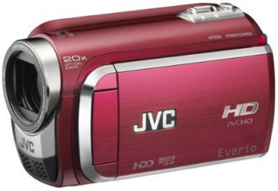 Everio GZ-HD300 60GB High-Def Camcorder - Red