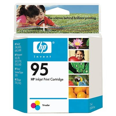 95 Tri-color Inkjet Print Cartridge (C8766WN)