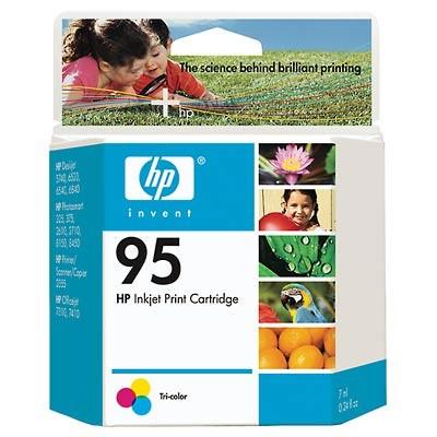 95 Tri-color Inkjet Print Cartridge (C8766WN)