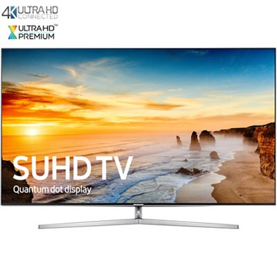 UN55KS9000 - 55-Inch 4K SUHD Smart LED TV w/ Ultra-Slim Bezel - OPEN BOX