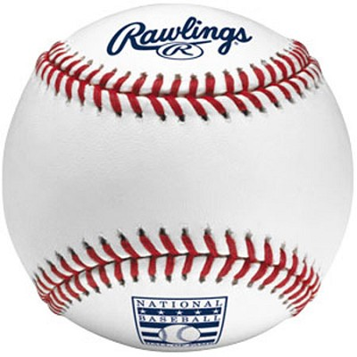 Official Hall of Fame Game Ball ROMLBHOF