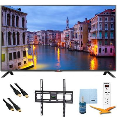 39LB5600 - 39-Inch Full HD 1080p LED HDTV Plus Mount & Hook-Up Bundle