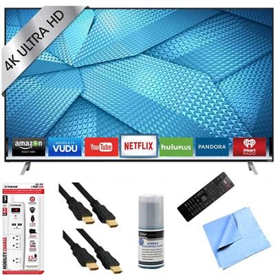 M49-C1 - 49-Inch 4K Ultra HD Smart LED HDTV Hook-Up Bundle