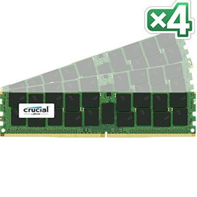 64GB Kit (16GB x 4) DDR4 2133 CL15 SRX4 288-Pin Server Memory - CT4K16G4RFD4213