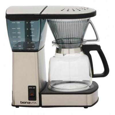 8-Cup Coffee Brewer with Glass Carafe (OPEN BOX)