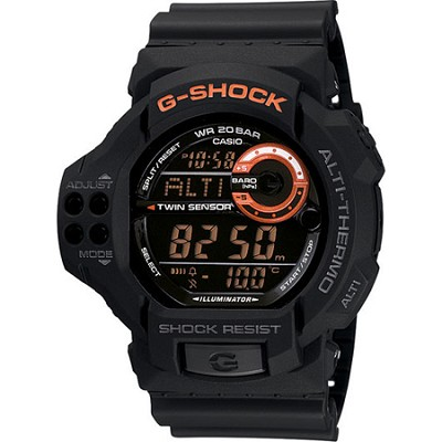 GDF100-1B - G-Shock The Outdoorsman Twin Sensor Watch - OPEN BOX