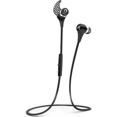 BlueBuds X Sport Bluetooth Headphones - Midnight Black - OPEN BOX