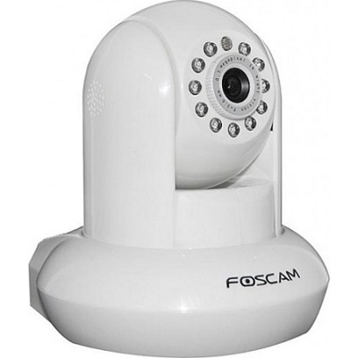 FI8910E Power Over Ethernet (POE) IP Camera - White