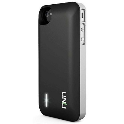 Exera Modular Detachable Battery Case for iPhone 4S 4 - Silver/Black