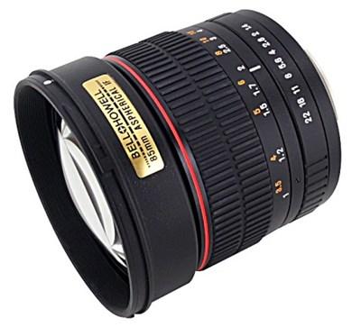 85mm f/1.4 Aspherical Lens for Olympus 4/3 DSLR Cameras - OPEN BOX