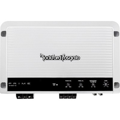 High Efficiency Class D Marine Mono Amplifier 1200x1 at 1ohm