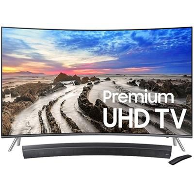 65` UN65MU8500 Curved 4K Ultra HD Smart LED TV + HW-MS6500/ZA Sound+ Soundbar