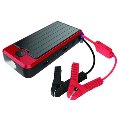 Supreme 12V 600A Portable Power Bank and Lithium Jump Starter - Red/Black