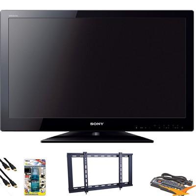 KDL32BX330 - 32` LED HDTV Value Bundle