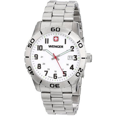 Men's 741.102 Grenadier Analog Swiss-Quartz Silver Watch