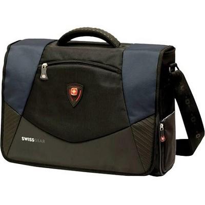 SwissGear Mythos Notebook Carrying Case - 17` - Black, Blue