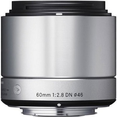 60mm F2.8 EX DN ART Lens for Micro Four Thirds (Silver)