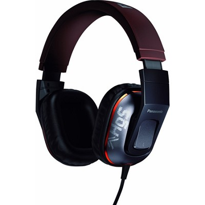 Over-the-Ear StreetBand Monitor Headphones w/ Remote & Mic - Silver Gray Graphic