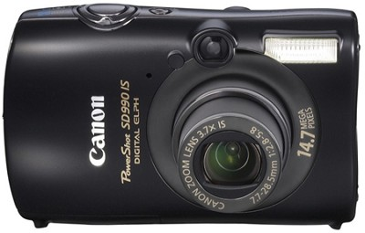 Powershot SD990 IS 14.7 MP Digital ELPH Camera (Black)