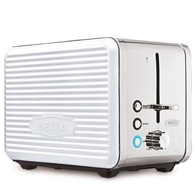 Linea 2-Slice Toaster White - 14176