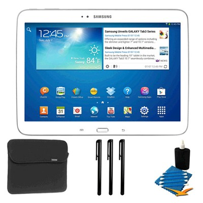 Galaxy Tab 3 (10.1-Inch, White) Essentials Bundle