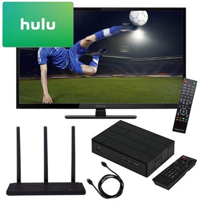 32` 720p 60Hz Direct LED HDTV + Terk Antenna, TV Tuner, 3 Months Netflix Kit