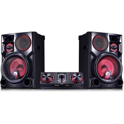 CJ98 3500W Hi-Fi Bluetooth Shelf Audio System (LGCJ98KITS)