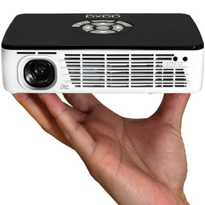 P300 Pico Pocket Projector, 300 Lumens HD, MP4 player  (Certified Refurbished)