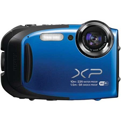 FinePix XP70 Waterproof/Shockproof Digital Camera (Blue) Refurbished