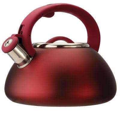 Whistling Kettle Matte Red