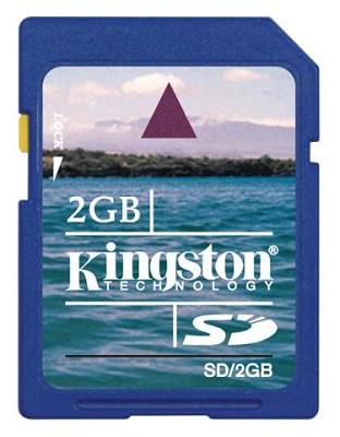 2 GB Secure Digital {SD} Memory Card
