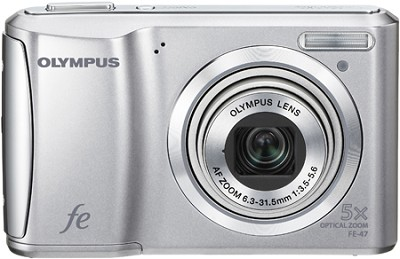 FE-47 14MP 2.7` LCD Digital Camera (Silver)