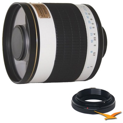 ED500M - 500mm f/6.3 Multi-Coated ED Mirror Lens for Samsung NX