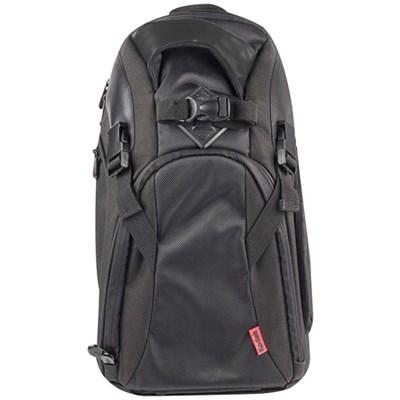 Photo Camera Sling Backpack for DSLR & Mirrorless Cameras - Black - OPEN BOX