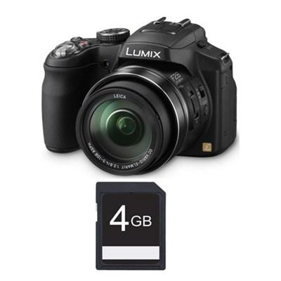 Lumix DMC-FZ200 12.1 MP Digital Camera with CMOS Sensor and 24x Optical Zoom