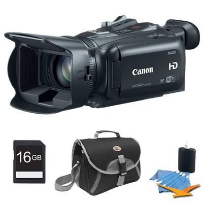 XA20 High Definition Professional Camcorder Plus 16GB Kit