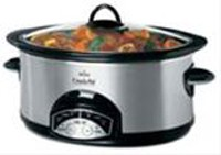 6 Quart Smart-Pot Programmable Slow Cooker in Chrome and Stainless