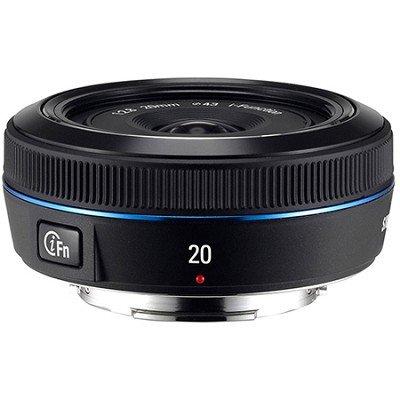 Wide 20mm F2.8 NX Pancake Lens for NX Series Cameras