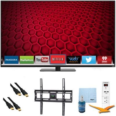 E700i-B3 - 70` Full HD 1080p 120Hz LED Smart HDTV Plus Mount & Hook-Up Bundle