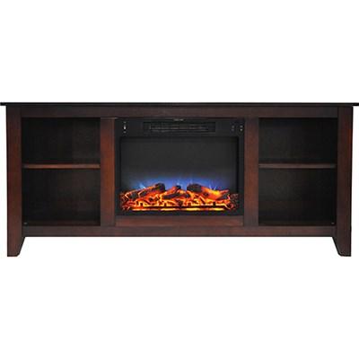 59.1 x17.7 x31.7  Savona Fireplace Mantel with LED Insert