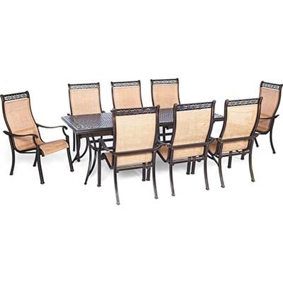 Manor 9-Piece Rectangular Patio Dining Set - MANDN9PC