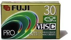 TC-30 VHS-C Super HG Tape