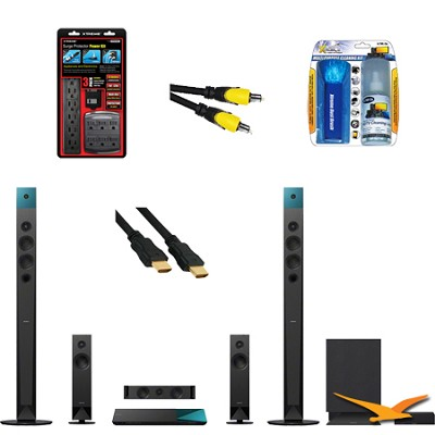 BDVN8100W - Blu-ray Home Theater System with HookUp Bundle