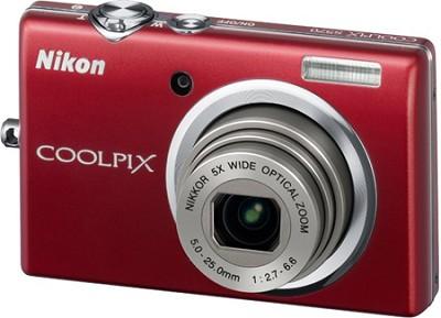 COOLPIX S570 12MP Digital Camera (Red)