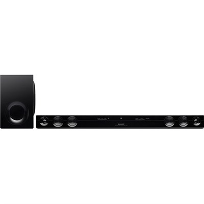 HT-SB38 120W Soundbar and Subwoofer with Remote Control and Bluetooth