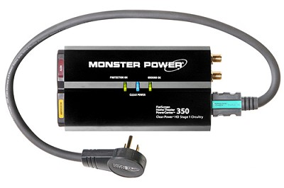 FlatScreen PowerCenter HTS 350 with Clean Power Stage 1