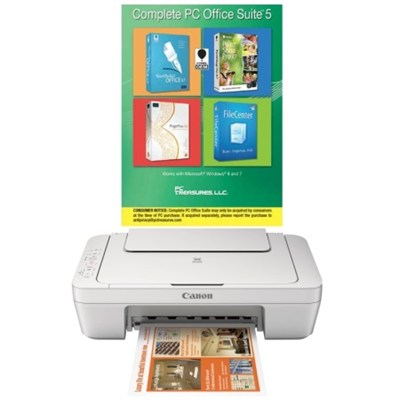 Complete Office Suite Download Kit + Canon MG2920 Wireless All in one Printer